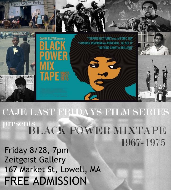 Black Power Mixtape Flyer